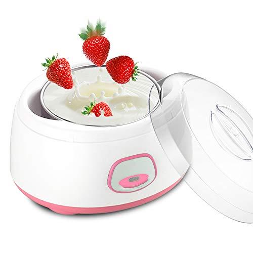 FU LIAN Macchina Automatica per Yogurt, Mini Macchina per fermentazione Piccola Multifunzione, conduzione del Calore bilanciata, Contenitore Interno in Acciaio Inossidabile