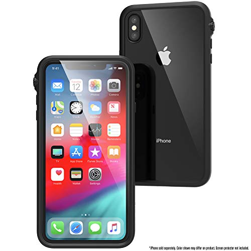 Catalyst iPhone Xs Max Case Impact Protection, Military Grade Drop and Shock Proof Premium Material Quality, Slim Design, Stealth Black