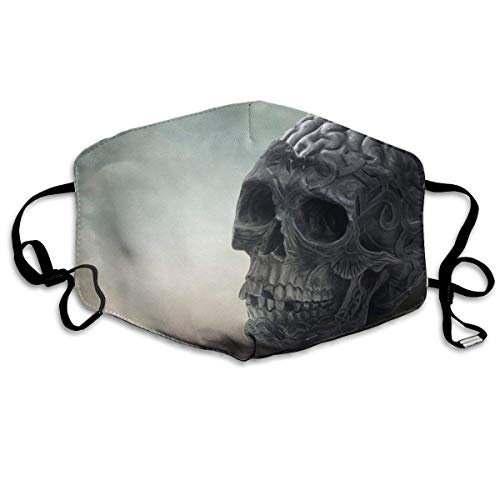 Cool Breathable Washable Dust Proof Facial Protections Safety for Skiing/Cycling Halloween Scary Horror Skull