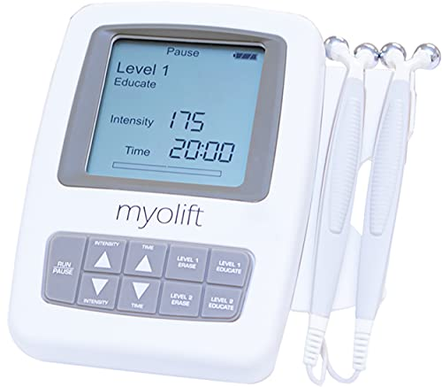 7E Wellness MyoLift Mini Microcurrent Facial Device - Non-Invasive Face Lift, Facial Skin Care Products for Anti Aging, Skin Tightening - Esthetician Supplies and Skin Care Tools - Up to 400 Microamps