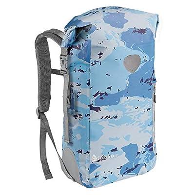 Skog Å Kust BackSåk Waterproof Backpack   35L Blue Camo