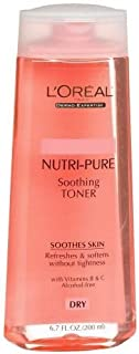 L'Oreal Dermo-Expertise Nutri-Pure Soothing Toner 200ml/6.7oz