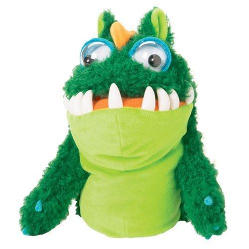 Manhattan Toy Monsties Gulp Plush Hand Puppet