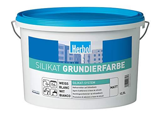 Herbol Silikat Grundierfarbe Weiß 12,5L