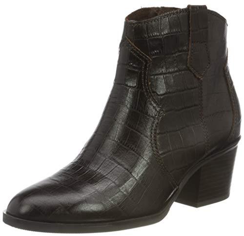 Caprice Damen 9-9-25701-25 348 Cowboy Stiefelette, DK Brown Croco, 39 EU
