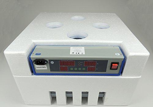 Campo24 S60 Motorbrüter autom. Wendung Brutapparat, Inkubator, für bis zu 60 Eier Inkubator - 7