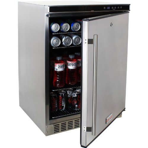 Blaze Blz-Ssrf-50D Outdoor Rated Stainless 24 In. Refrigerator ...