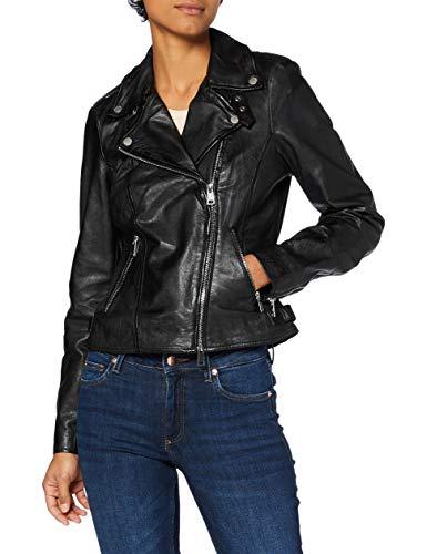 Freaky Nation Damen New Undress Me-FN Lederjacke, Black, XL