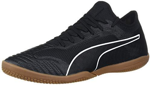 PUMA Men's 365 Sala 1 Futsal-Shoe, Black White-Gum, 9 M US