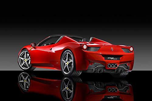 """XOTIKS Ferrari 458 Spider – Premium High Gloss Art Print Poster. (183P) (24""""x36"""")"""