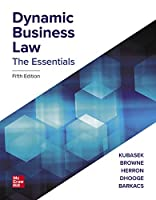 Dynamic Business Law: The Essentials