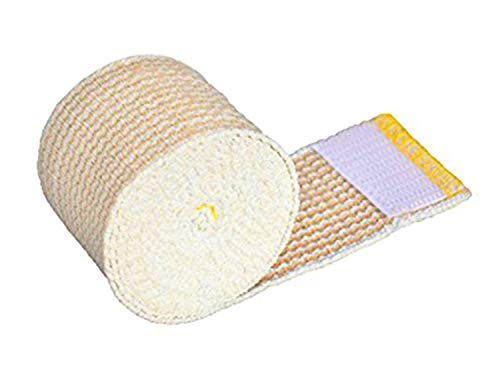 "GT USA Organic Cotton Elastic Bandage Wrap (2"" Wide, 1 Pack) 
