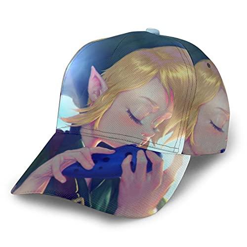 Zelda Link Baseball Cap Sonnenschutz Casual Handsome Boy Cool Girl Universal Must Have Artefakt für Outdoor