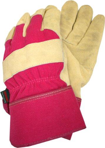 Town & Country Gants de Jardinage Thermiques en Cuir pour Femme Doublure en Tissu