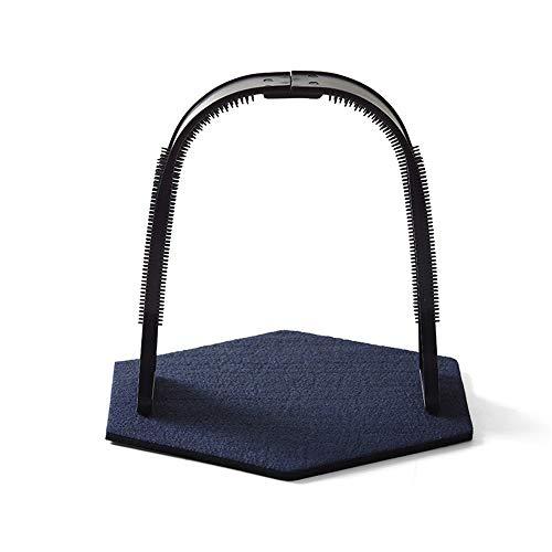 I will take action now Jouet en plastique en forme d'arche minimaliste facile à nettoyer pour animal domestique - Arche en laine - Couleur : bleu