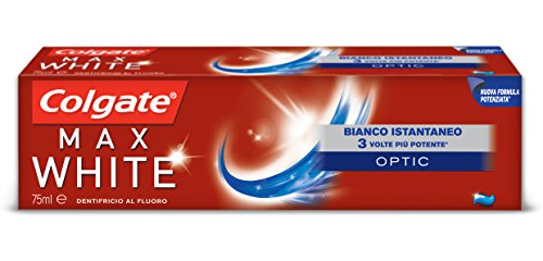 Colgate Dentifricio Max White One Optic - Pacco da 12 x 75 ml - Totale: 900 ml