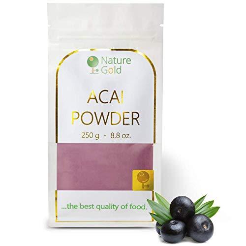 ACAI Polvo | Extracto de Bayas Crudas | 250g 8.8oz | 100% Natural & Sin Azúcar