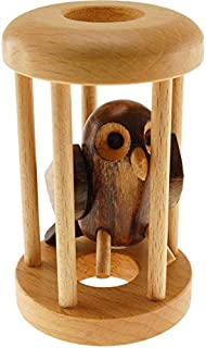 Hryahlavolamy Owl in a Cage