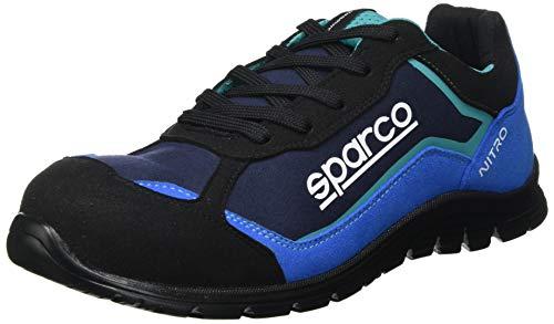 Sparco - Zapatillas Nitro S3 Black/Azul talla 42 🔥