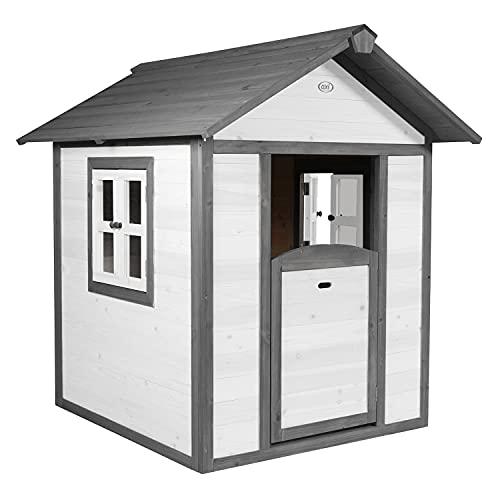 AXI Maison Enfant Beach Lodge en Blanc | Maison de Jeux en bois FFC pour les enfants | Maisonnette / Cabane de jeu pour le jardin