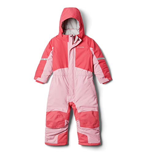 Columbia Buga II Suit Chaqueta aislada, Bright Geranium/Pink Orchid, 2 años para Bebés