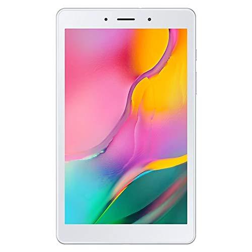 """Samsung Galaxy Tab A 8.0"""" (2019, WiFi Only) 32GB, 5100mAh All Day Battery, Dual Speaker, SM-T290, International Model (32GB + 128GB SD Bundle, Silver)"""