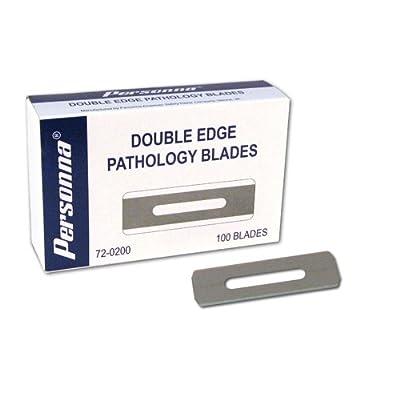 Personna 72-0200 Double Edge Pathology Blades , Carton, 100, Blades
