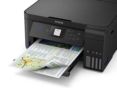 Epson EcoTank ET‑2750 5760 x 1440DPI Inyección de tinta A4 33ppm - Impresora multifunción (Inyección de tinta, 5760 x 1440 DPI, 100 hojas, A4, Impresión directa, Negro)