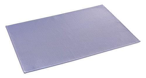 décorline set de table 32x47cm pvc silky lavande
