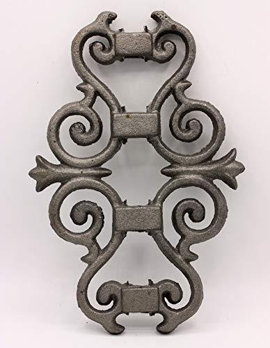 UHRIG ® Ornament schmiedeeisen Eisenguss für Zaun Geländer Fenstergitter Rankhilfe #646