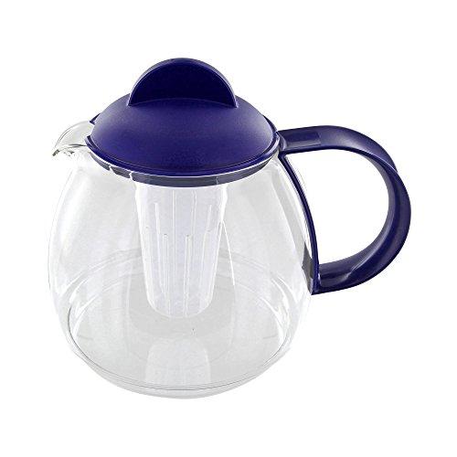 Trendglas Jena 9753M Teekrug / Teekanne, 1.8 Liter, blau