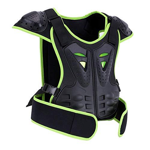 BARHAR Kids Dirt Bike Body Chest Spine Vest Protective Gear for Snowboarding (S)