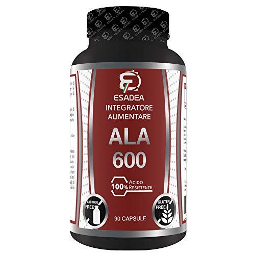 ALA 600 90 cps: a base di Acido Alfa-Lipoico acido grasso con potente azione antiossidante. Aiuta a combattere lo stress ossidativo provocato dai radicali liberi