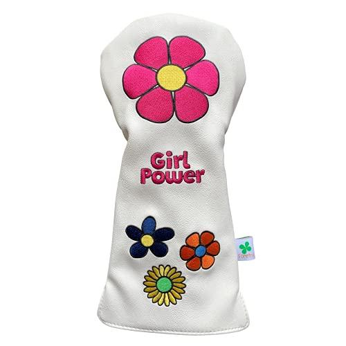 Foretra - Edición limitada Girl Power Design - Cubierta para cabeza de conductor - Funda para palos de golf de calidad - Estilo y personaliza tu bolsa de golf