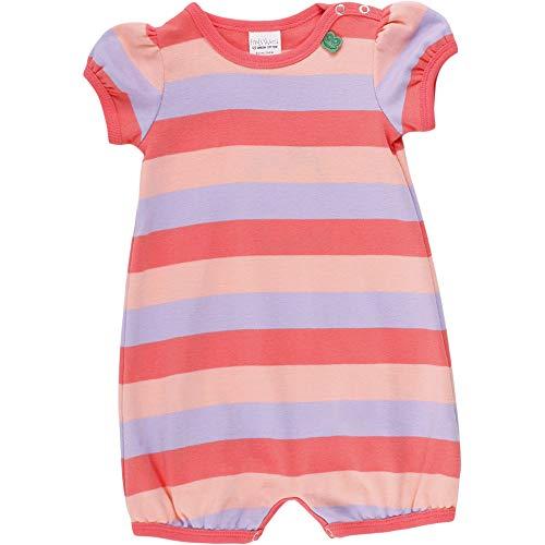 Fred'S World By Green Cotton Multi Stripe Beach Body Girl, Multicolore (Coral 016164001), 58 (Taille Fabricant: 56) Bébé Fille
