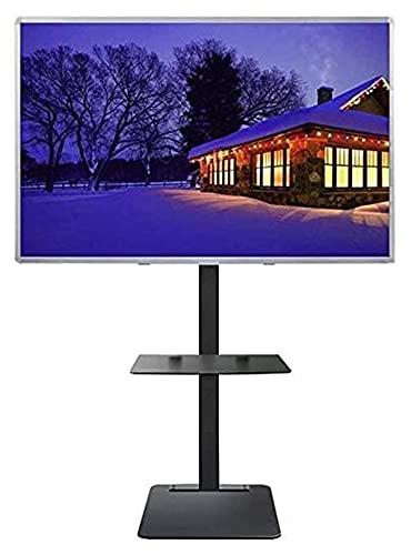 TabloKanvas TELEVISOR Montaje de Soporte Universal TELEVISOR Soporte con Almacenamiento 32/40/42/43/49/50/55/60/65/70 Pulgadas TVS (Size : A)