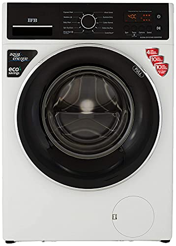 IFB 6.5 Kg 5 Star Fully-Automatic Front Loading Washing Machine (Elena ZX, White, 3D Wash Technology, CradleWash,In-built heater)