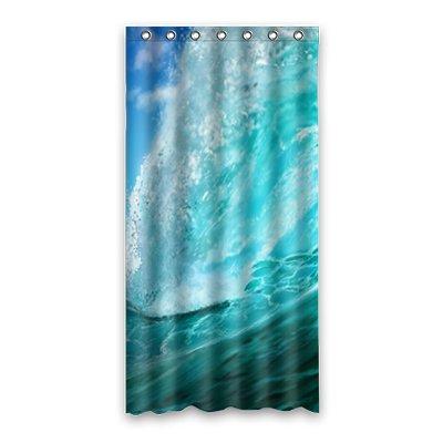 Dalliy onde del mare Costume Tenda Della Doccia Shower Curtain 90cm x 183cm