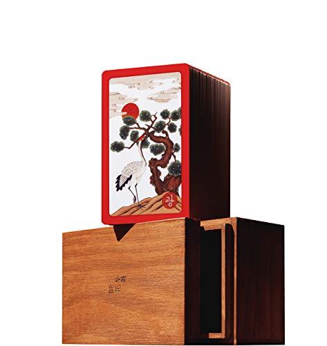 TUHWA - Flower Cards, The Korean Traditional Cards Hwatu, The Beauty and Culture of Korea / Handmade / Artwork / Wooden Box / Hanafuda