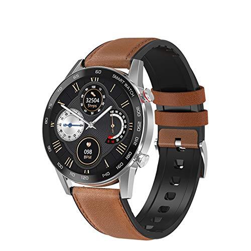 QNMB DT95 Bluetooth Call Smart Watch Monitor de Calor para Hombres 360 * 360 HD Pantalla IPS IP68 Deportes Impermeables SmartWatch,A