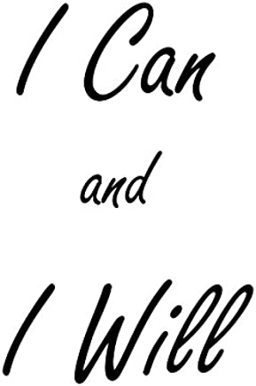 "Heartfelt Inspirations By Moana SS-HI-10021""I Can and I Will"" Paper Wall Prints"