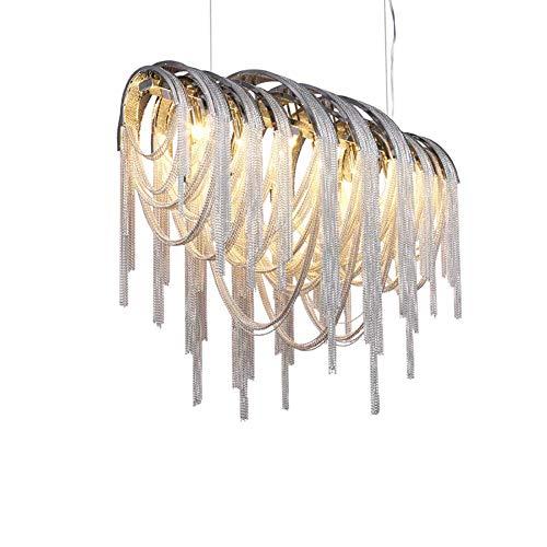 Moderna lámpara de araña de cristal francés, lámpara de techo rústica para comedor, sala de estar, baño, vestíbulo