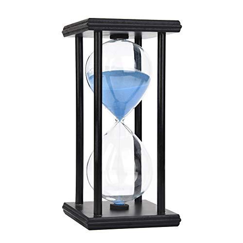 30 minutos reloj de arena reloj de arena reloj de cristal decoración de la oficina en casa