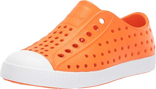 Native Kids Shoes Jefferson (Toddler/Little Kid) City Orange/Shell White 5 Toddler