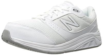New Balance Women's Walking Shoe-W, White, 7 B US