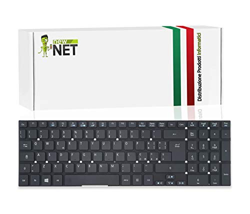 New Net Keyboards – Teclado italiano compatible con Notebook Packard Bell Easynote P7YS0 LS11HR LS44HR TS44HR TS11HR TS11SB TSX66HR P5WS0