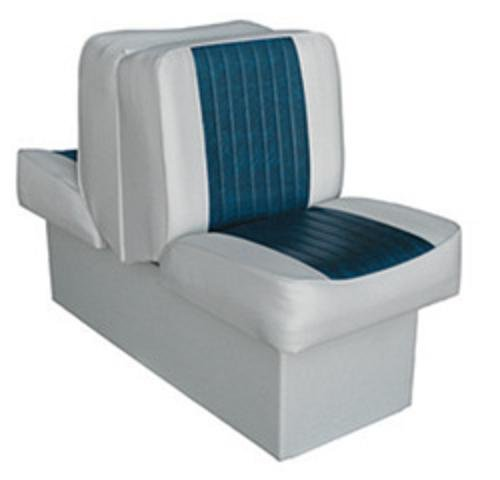 Wise 8WD707P-1-660 Deluxe Lounge Seat (Grey/Blue)