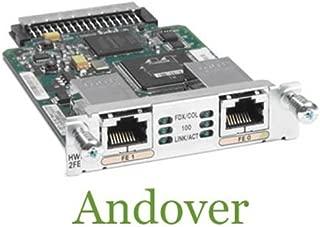 Cisco High-Speed WAN Interface Card expansion module - 2 ports (HWIC-2FE=) -