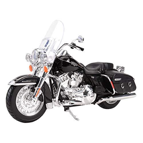El Maquetas Coche Motocross Fantastico para 2013 Road King Classic 1:18 Estado Estático Motoring Motorcycle Model Gift Memorial Toy Car Regalos Juegos Mas Vendidos