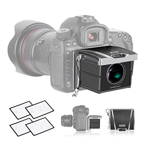 Neewer Universal Kamera Viewfinder Sucherlupe 3X Vergrößerung für Sony A7II/A9/RX1 Canon 6D Mark II/7D Mark II/77D/800/D1DX/1DXII Nikon D850/D7200 und andere DSLR-Kameras